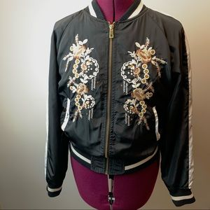 Angel Kiss bomber embroidered jacket M